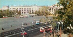 Postcard Belarus Minsk Central Square