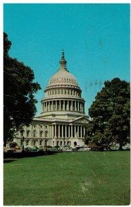 Postcard - U. S. Capitol, Washington D.C.