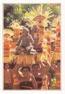 Indonesia Bali Women offering Bearers