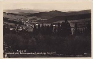 RP: Šumava, Czech Republic , 20-30s, Pohled do udolf Zeleznorudskeno. V poza...