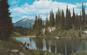 Heather Lake and Mt. Dickey,  Mt. Revelstoke National Park,  Vancouver,  B.C....