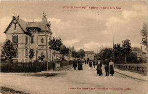CPA   Le Mesle-sur-Sarthe (Orne) - Avenue de la Gare (356595)