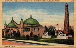 California San Jose Rosicrucian Park Cleopatra's Needle and Planetarium