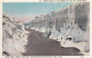 ROCKY MOUNTAIN NATIONAL PARK, Colorado, 00-10s; Snow Canon