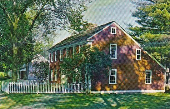The Solomon Richardson House Old Sturbridge Village East Brookfield Massachus...