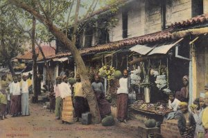 COLOMBO , Ceylon , 00-10s ; Fruit Stall