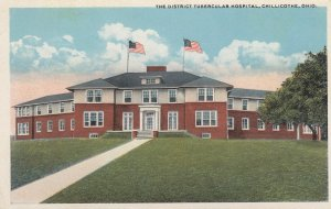 CHILLICOTHE , Ohio , 1910s ; District Tubercular Hospital