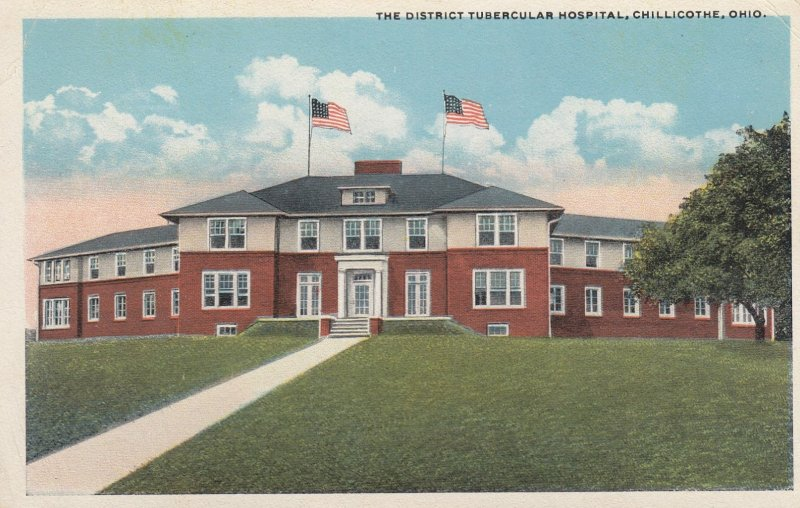 CHILLICOTHE , Ohio , 1910s ; District Tubercular Hospital