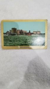 Battery Park New York Ullman's Gold Border Series American Post Card View 3009