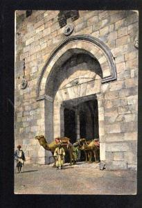 037579 JERUSALEM David's Gate Vintage PC