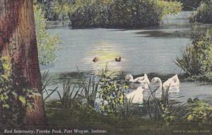 Indiana Fort Wayne Franke Park Bird Sanctuary Curteich