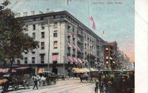 Astor House, Manhattan, New York City, Early Postcard, Unused