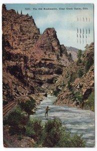 Clear Creek Canon, Colo., The Old Roadmaster