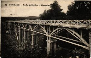 CPA GUINGAMP - Viaduc de Cadolan - Perspective (243678)