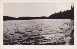 RP, Glimpse Lake, Merritt, British Columbia, Canada, 1920-1940s