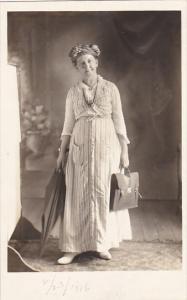 Cuba Havana Carrie P Spencer 23 February 1916 Real Photo