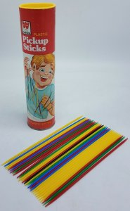 Vintage Retro Toy Game 1975 70's Whitman Plastic Pickup Pick Up Sticks Missing 1