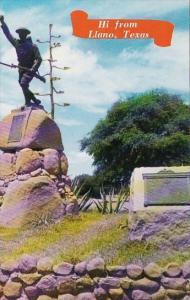 Texas Hi From Llano World Wars I and II Memorial