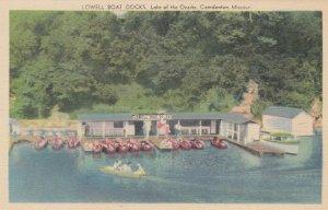 CAMDENTON , missouri , 1930-40s ; Lowell Boat Docks