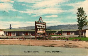 California Ukiah Rancho Siesta