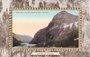 Canadian Rockies, Mt. Stephen (Alt. 10,523), Field, British Columbia, Canada,...