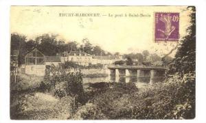 THURY-HARCOURT, Le pont a Saint-Benin, Calvados, France, PU-1928