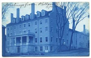 Hallowell ME Hallowell House 1906 RPPC Real Photo Postcard