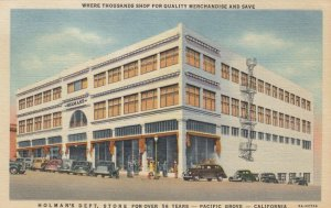PACIFIC GROVE , California , 1930-40s; Holman's Department Store