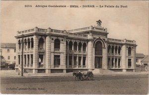 CPA AK SENEGAL DAKAR - Le Palais du Port (46758)