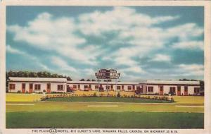 The Plaza Motel, Niagara Falls, Canada,30-40s