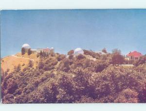 Pre-1980 BUILDING SCENE Mount Hamilton - Near San Jose California CA H4328