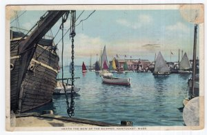 Nantucket, Mass, 'Neath The Bow Of The Skipper