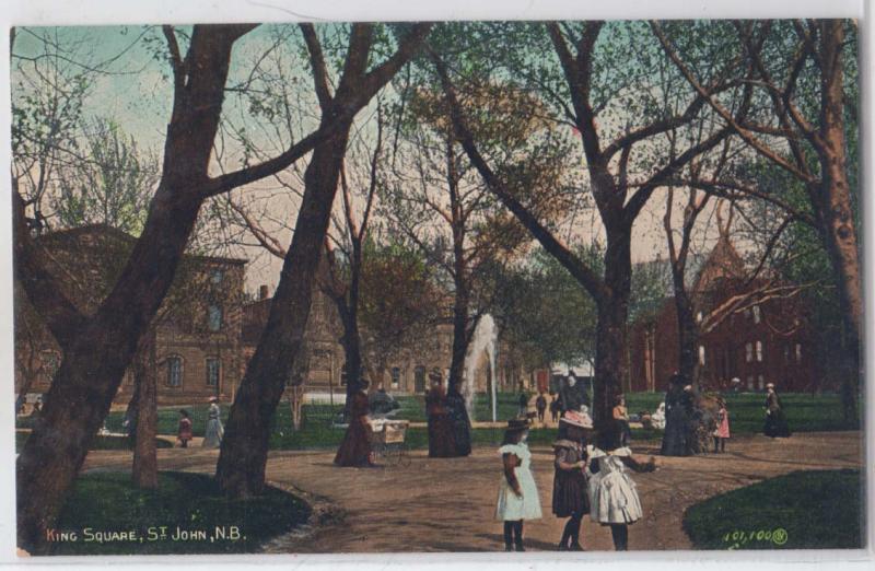 King Square, Saint John NB
