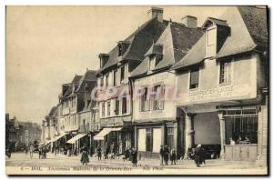 Postcard Old Dol Ancient houses of the Grande Rue