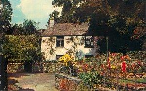Postcard UK England Dove cottage Grasmere, Westmorland
