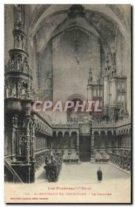 Old Postcard Organ St Bertrand de Comminges Chapter