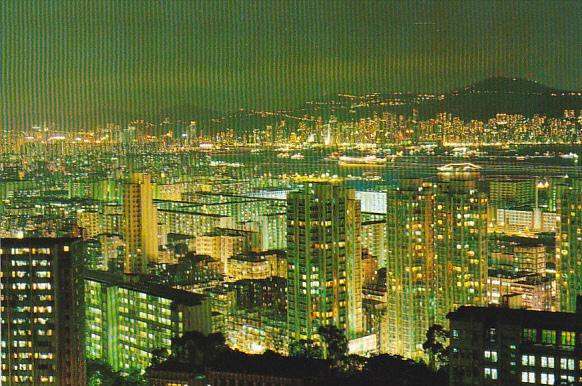 Hong Kong Kowloon by Night