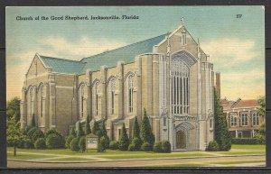 Florida, Jacksonville - Church Of The Good Shepherd - [FL-227]