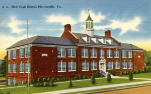 VA - Martinsville. New High School