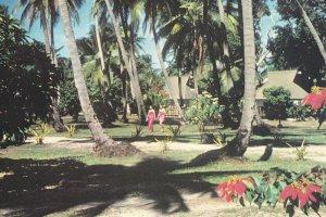 Bures , Mana Island Resort , Fiji, PU-1986