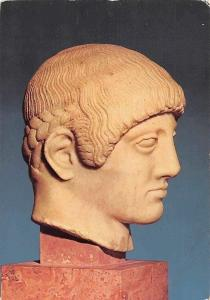 Athens Acropolis Museum, Head of a Young Man