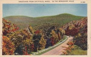 Massachusetts Sheffeild Greetings From Sheffield In the Berkshire Hills