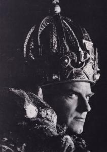 Norman Rodway as Richard III Royal Shakespeare Company Theatre Postcard