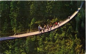 Capilano Suspension Bridge - North Vancouver BC, British Columbia, Canada