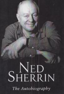 Ned Sherrin The Autobiography Book Hand Signed Publicity Card Photo