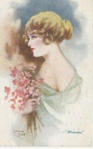 Woman portrait , 1900-10s ; #27A ; Artist Lawrence Miller