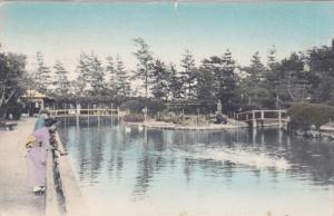 Bridge , Imperial Palace , Tokio, Japan , 30-40s