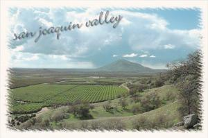 California San Joaquin Valley Panoramic View
