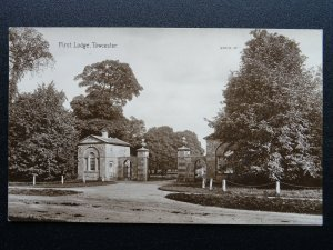 Northamptonshire TOWCESTER First Lodge c1904 RP Postcard by F.C. Williams