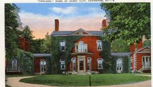 KY - Lexington, Ashland - Home of Henry Clay